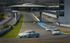 Ferraris at Jerez