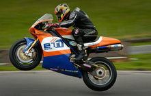 Racing at Cadwell